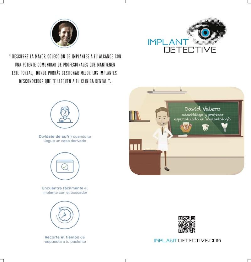 Folleto caja de verificación de IMPLANT DETECTIVE